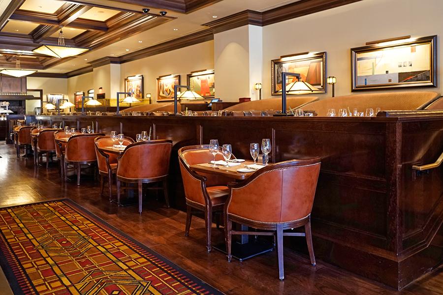 Dining Area Bugatti's