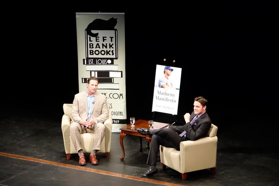 Mike Matheny Book Tour