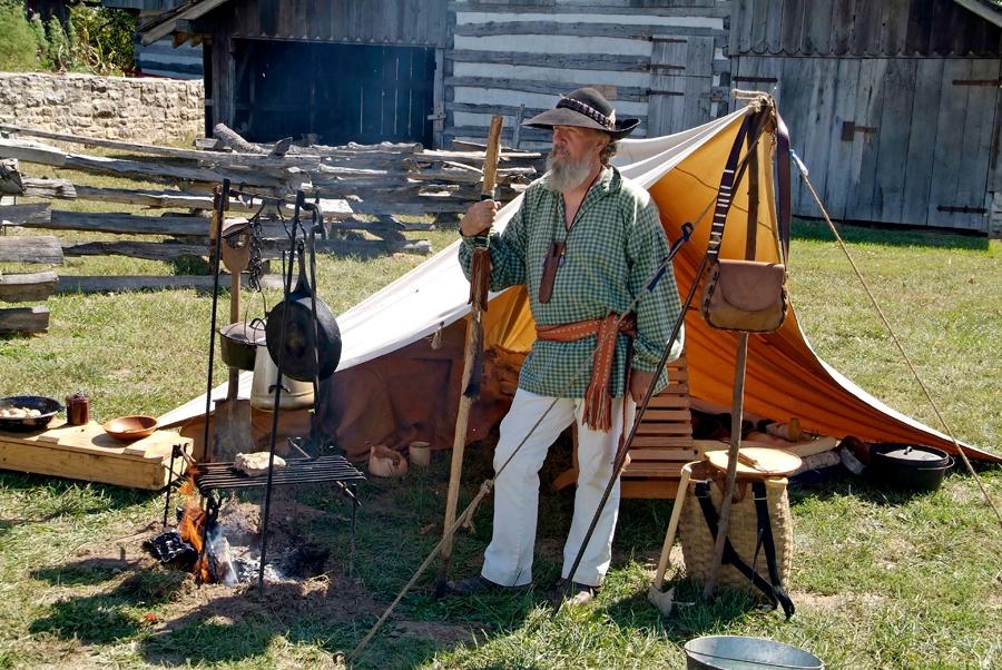 Pioneer Days Daniel Boone Home