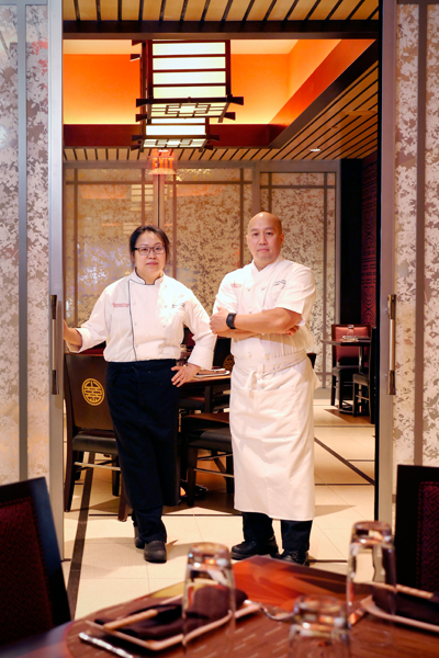 Chefs at Asia